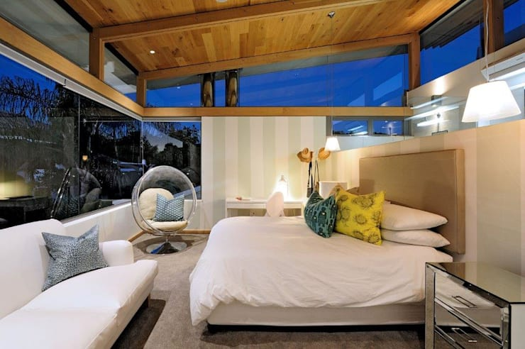 Projekty,  Sypialnia zaprojektowane przez Dear Zania Interiors