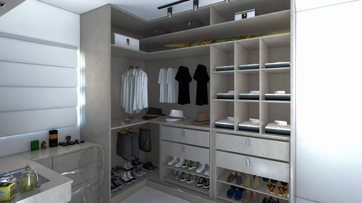 Dormitorios de estilo moderno de Secato Arquitetura e Interiores Moderno