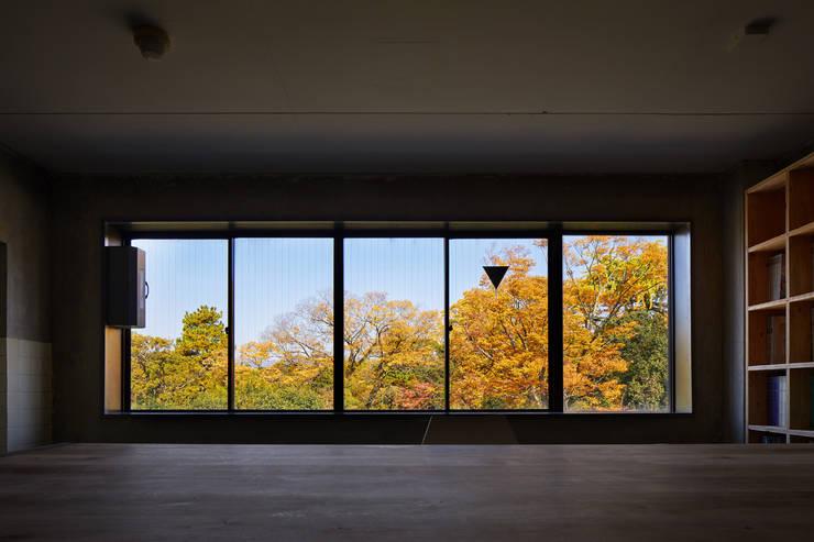 Kyoto office: 一級建築士事務所 こよりが手掛けた窓です。
