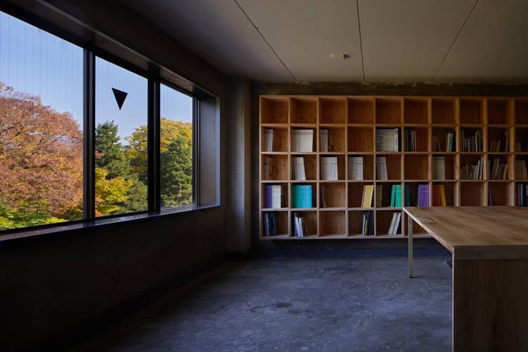 Kyoto office: 一級建築士事務所 こよりが手掛けた和室です。