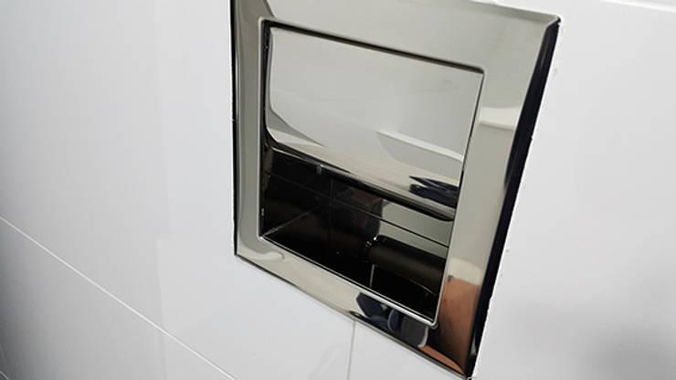 주상복합40평형인테리어: 디자인모리의  욕실,