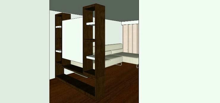 proyecto salitre: Salas de estilo  por Mobelmuebles