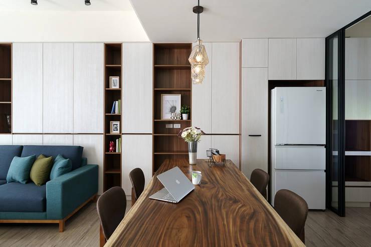 善化  貝森朵夫二期 :  餐廳 by 橡樹設計Oak Design
