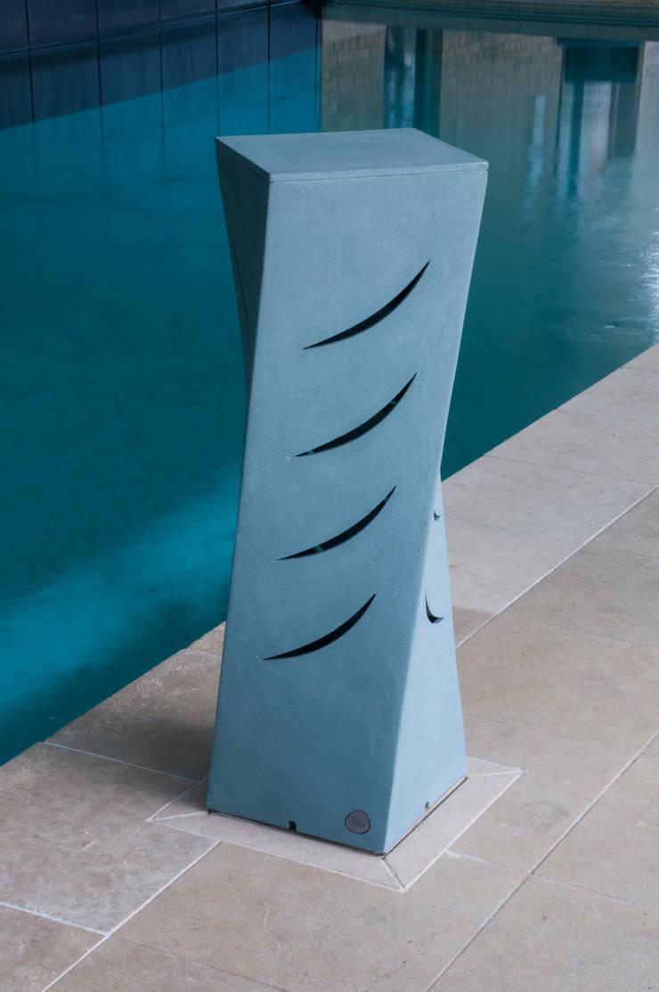 The Furtho in Serene Blue Dark:  Garden  by Jalu Ltd