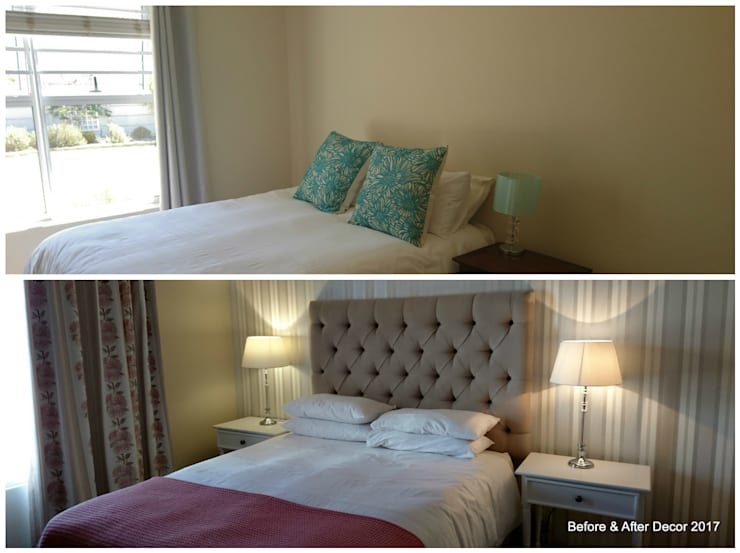 MASTER BEDROOM MAKE OVER:   by BEFORE & AFTER DECOR