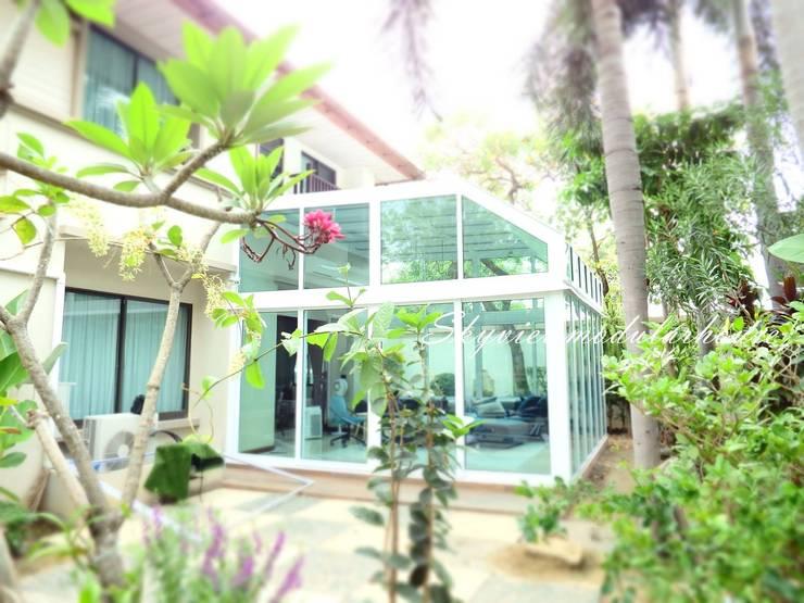 ห้องกระจก UPVC ย่านราชพฤกษ์:   by สกายวิวโมดูลาห์