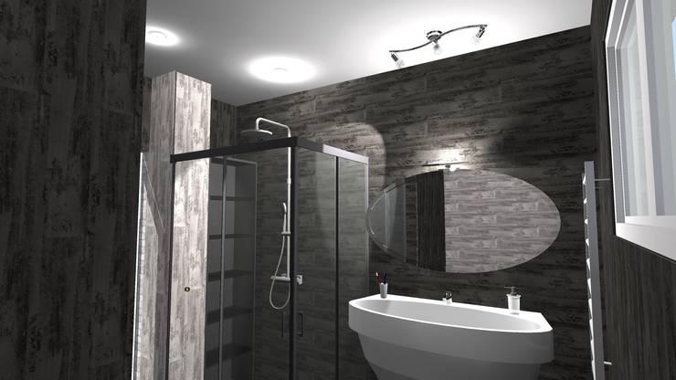 Baños de estilo moderno de relion conception Moderno