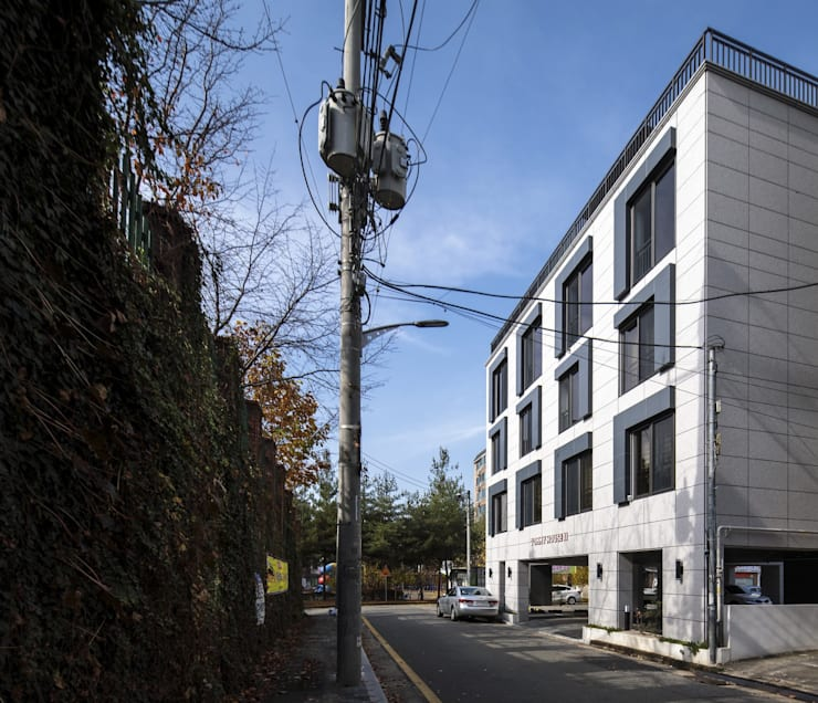 Houses by DIDI studio 디디