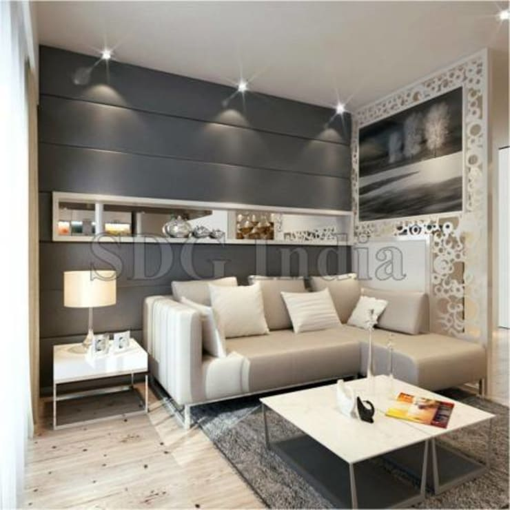 Interiors: modern Living room by Space Design Group
