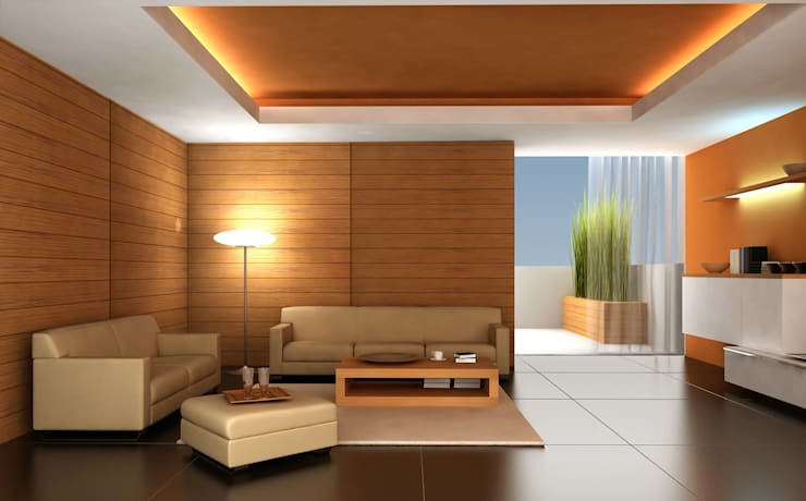 Lamps: modern Living room by Craft Looks