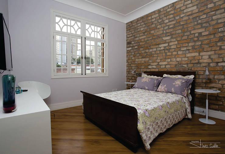 غرفة نوم تنفيذ SET Arquitetura e Construções