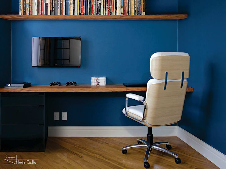 Study/office by SET Arquitetura e Construções