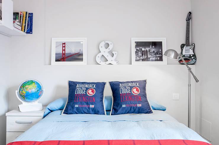 Habitaciones de estilo  por Basoa Decoración