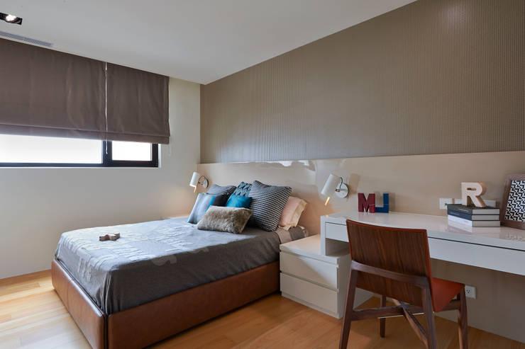Bedroom by 舍子美學設計有限公司, Modern