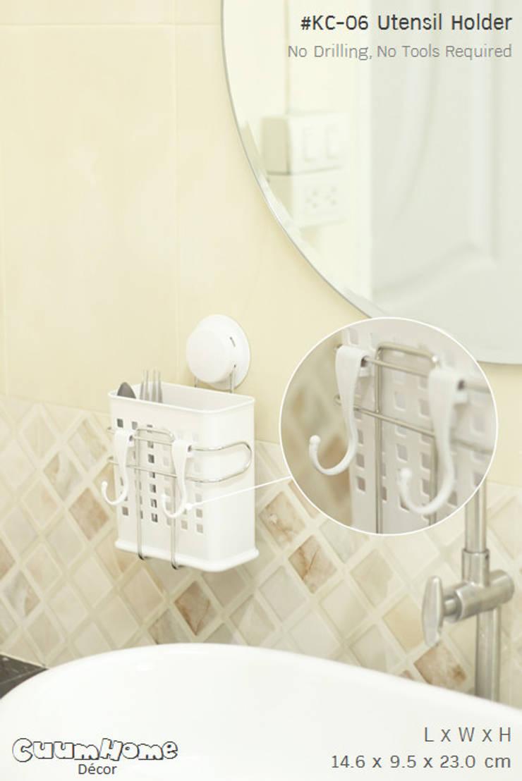 คุ้มค่า ในชิ้นเดียว ทั้งวางช้อนส้อมและแขวนได้:   by Square Group Co.,Ltd.