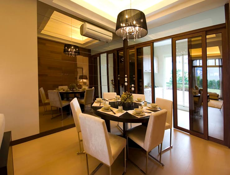 Dining room by 果仁室內裝修設計有限公司