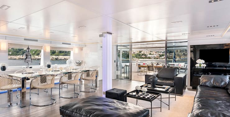 Grayzone Yacht Design Monte Carlo 42 m2:  Yachts & jets by Key Invest Interior Designer Istanbul
