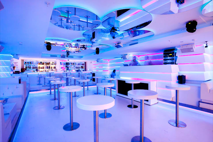 Richie Club:  Bars & clubs by Key Invest Interior Designer Istanbul