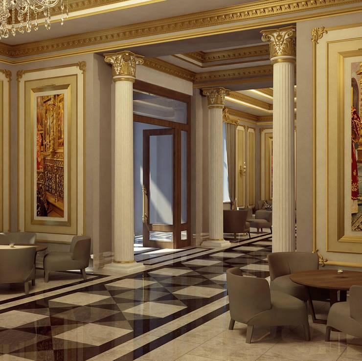 Astrakhanski Hotel:  Hotels by Key Invest Interior Designer Istanbul