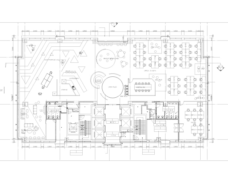 플레이독 playdog soft: (주)도시마을건축사사무소의  회의실