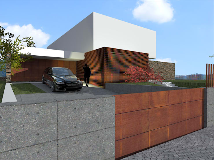 House in Lustosa: Casas  por MO architect