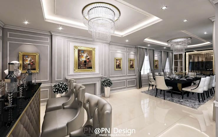 The Crystal Park:   by P2N Interior Design&Architecture