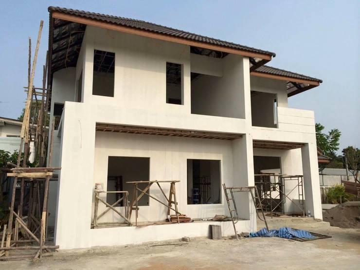 ออกแบบบ้านที่พัก:   by P2N Interior Design&Architecture