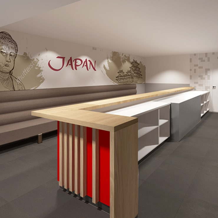 Gastronomy by Anne-Carien Interieurarchitect, Modern