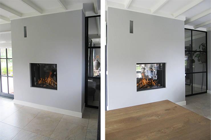 Cuisine de style  par Anne-Carien Interieurarchitect, Moderne