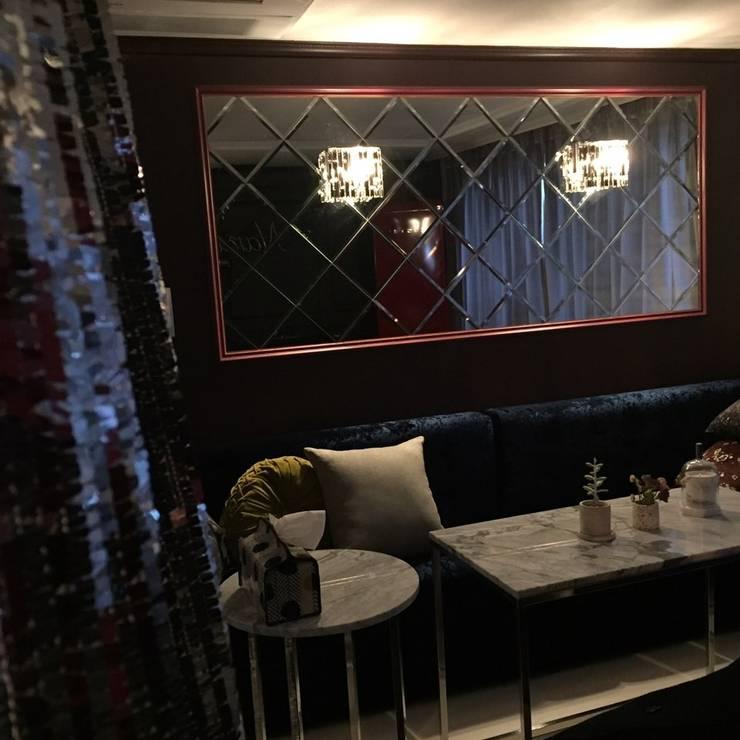 Narae Bar 나래바: 캐러멜라운지의  거실