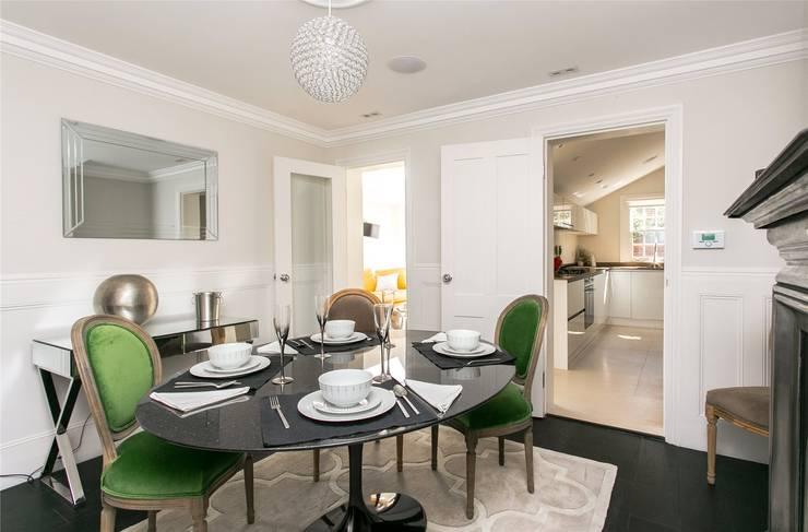 Lillieshall Road, London, SW4:  Dining room by APT Renovation Ltd