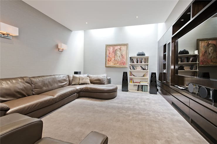 Halsey Street SW3: modern Living room by APT Renovation Ltd