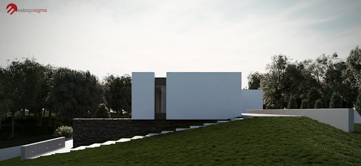 Houses by EsboçoSigma, Lda, Minimalist