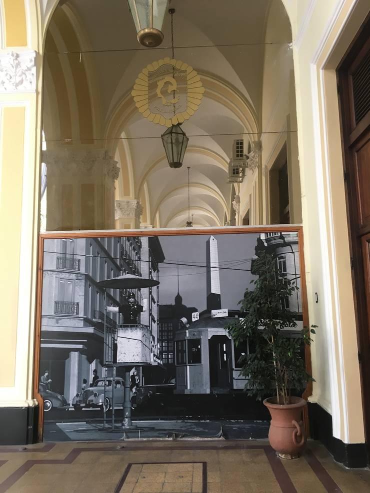 CASCADA Y JARDIN VERTICAL - PFA - ANTES:  de estilo  por BIANCHI ARQUITECTURA INTERIOR