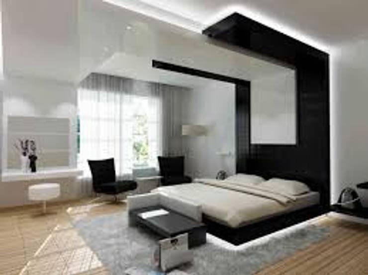 espacio de tranquilidad Habitaciones modernas de arqutectos innova Moderno