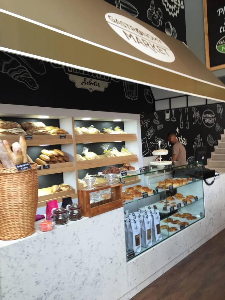 Mueble de Panaderia: Locales gastronómicos de estilo  por Ecologik