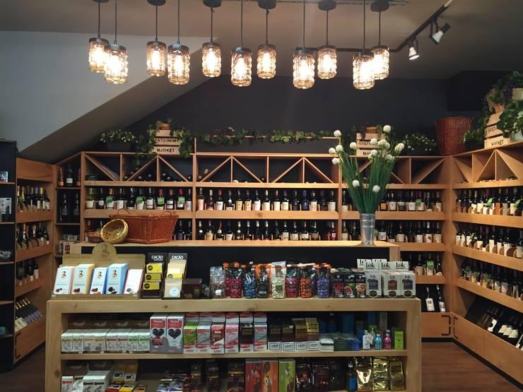Zona de vinos: Locales gastronómicos de estilo  por Ecologik