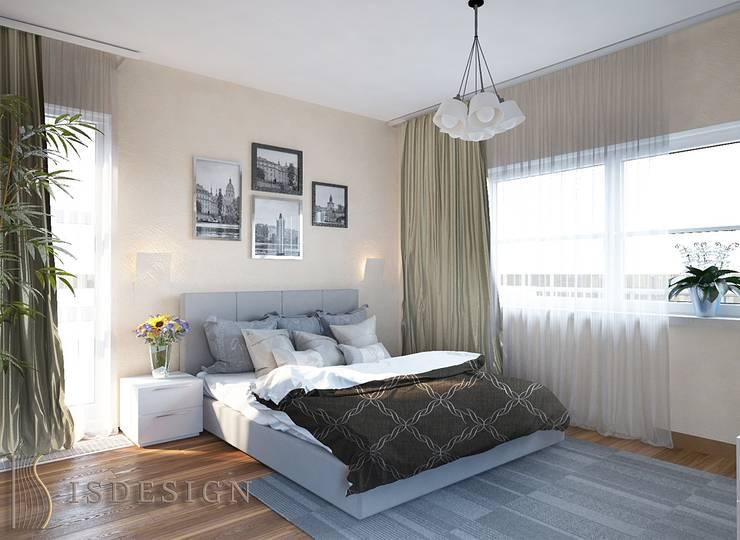 Спальня для гостей: Спальни в . Автор – ISDesign group s.r.o., Эклектичный