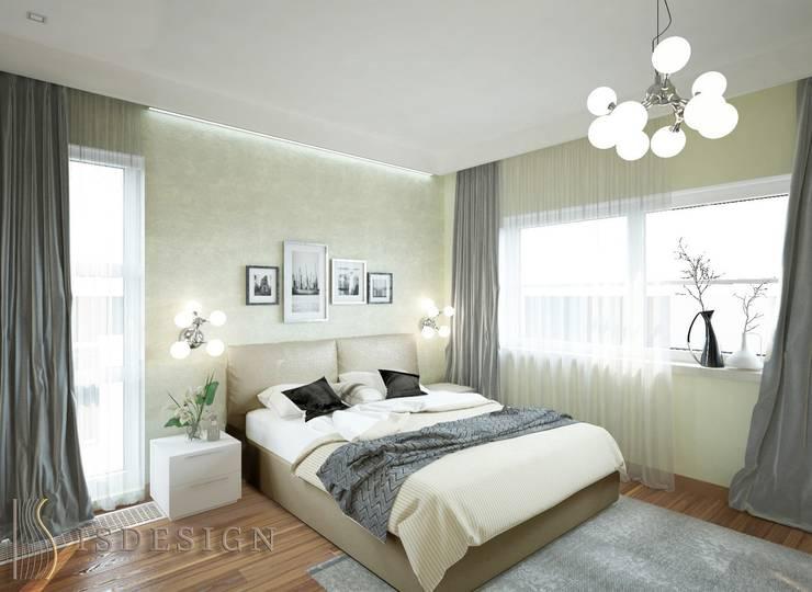 Спальная комната: Спальни в . Автор – ISDesign group s.r.o., Эклектичный
