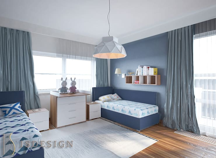 Детская комната для мальчиков: Детские комнаты в . Автор – ISDesign group s.r.o., Эклектичный