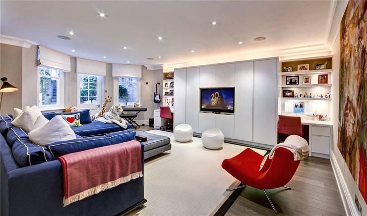 Trebovir Road, SW5: modern Living room by APT Renovation Ltd