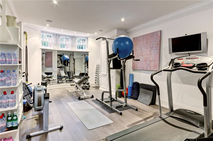 Trebovir Road, SW5:  Gym by APT Renovation Ltd