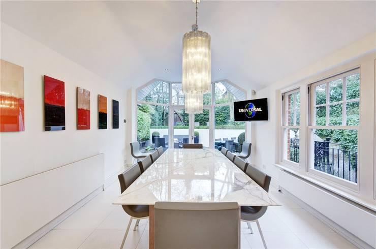 Trebovir Road, SW5: modern Dining room by APT Renovation Ltd