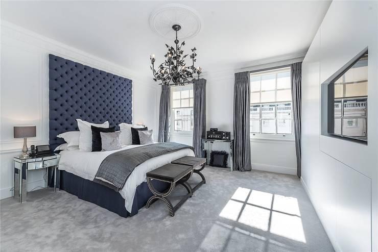 Victoria Square, London SW1W:  Bedroom by APT Renovation Ltd
