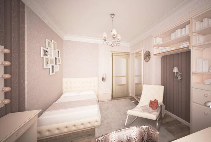Трех-комнатная квартира в сталинке: Детские комнаты в . Автор – dessein