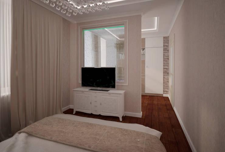 Трех-комнатная квартира в сталинке: Спальни в . Автор – dessein