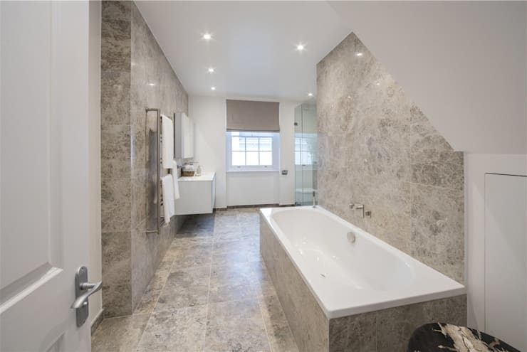 Wellington St Johns Wood NW1: modern Bathroom by APT Renovation Ltd