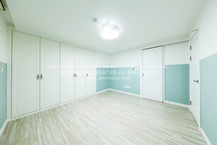 자녀방: 쉼표디자인SHUIMPYO DESIGN의  방