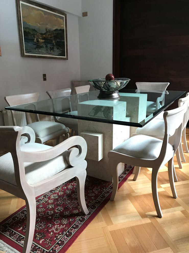 Dining room by Muebles Menard,