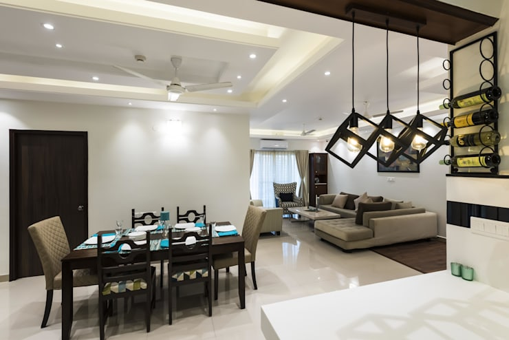 Living room by Nandita Manwani